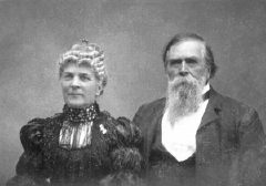 annie bidwell pioneer woman. annie and john bidwell, january 1897 - photo courtesy of bidwell state historical park pioneer woman
