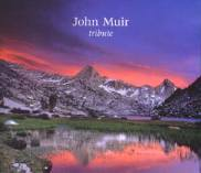 John Muir Tribute CD cover, featuring Gerald Pelrine's rendition of John Muir's Stickeen