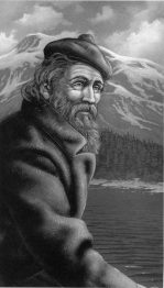 John Muir, illustation by Carl Dennis Buell