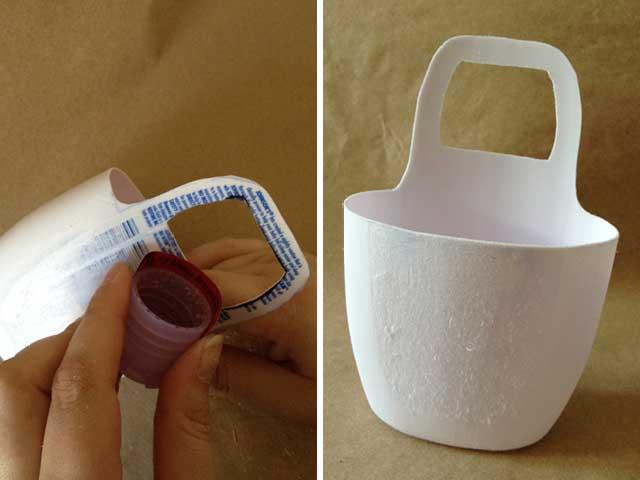 Repurpose Plastic Bottle Cellphone Holder September
