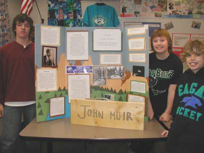 In Kansas, District 3, February 26, 2006 History Day Competition results