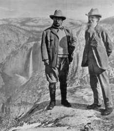 President Roosevelt met John Muir in Yosemite 100 years ago