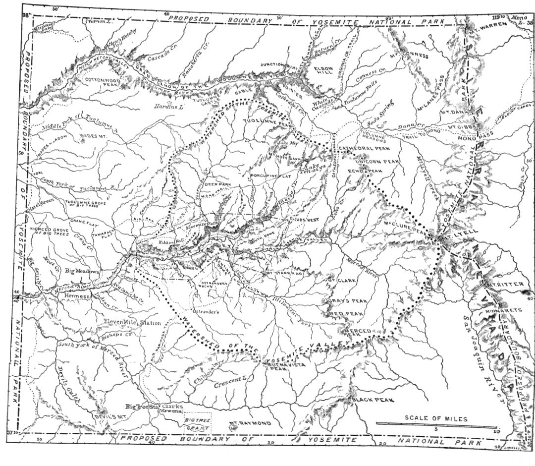 Features of the Proposed Yosemite National Park. By John Muir. The ...