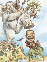 Don't stomp on Teddy Roosevelt's legacy, says REP America.