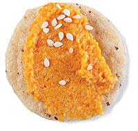 Carrot Cashew Miso Spread